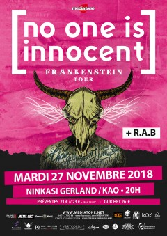 No One is Innocent + R.A.B au Ninkasi Kao