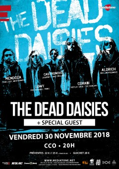 The Dead Daisies au CCO