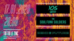 Concert 105 de Groove + The Soul Funk Soldiers + Bend the Future